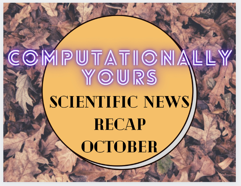 Ep22 - Science News Recap October